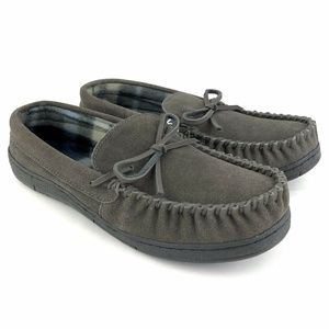 Route 66 Slippers Men' s Suede Leather Moccasins